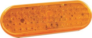 G6003-3 by GROTE - Hi Count® 56-Diode Oval LED Stop/Tail/Turn, Yellow