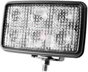 63611-5 by GROTE - Trilliant® Mini LED WhiteLight™ Work Lamp, Clear, 700 Lumens, Flood