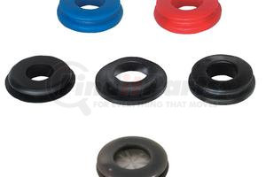 12-0163 by PHILLIPS INDUSTRIES - Gladhand Seal - Polyurethane, Black, Polybag (Please allow 7 days for handling. If you wish to expedite, please call us.)