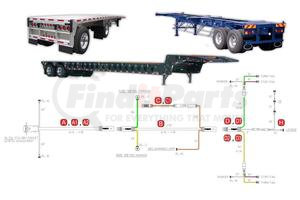 36-9601-036 by PHILLIPS INDUSTRIES - STA-DRY® SLIM-7™ System - Flatbed & Container Chassis - ID / License (Please allow 7 days for handling. If you wish to expedite, please call us.)