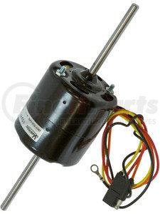 26-14500-F by OMEGA ENVIRONMENTAL TECHNOLOGIES - Blower Motor - 2 Shaft 3 Speed 12V Fasco
