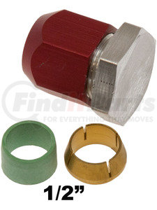 41-76501 by OMEGA ENVIRONMENTAL TECHNOLOGIES - LINE TERMINATOR 1/2in OD LINE BLOCKOFF KIT