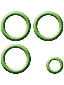 MT2193 by OMEGA ENVIRONMENTAL TECHNOLOGIES - TOYOTA R134A BLOCK EXPANSION VALVE O-RING KIT