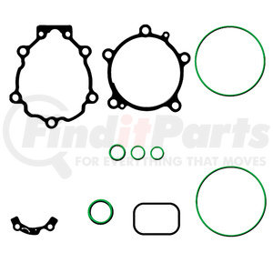 MT2064 by OMEGA ENVIRONMENTAL TECHNOLOGIES - GASKET KIT NIPP. TV12C/TV14C R134A
