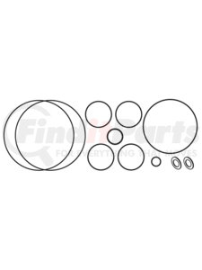 MT2089 by OMEGA ENVIRONMENTAL TECHNOLOGIES - COMPRESSOR GASKET KIT KEIHIN