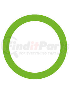 MT1369-10 by OMEGA ENVIRONMENTAL TECHNOLOGIES - 10 PK, O-RING, GREEN HNBR