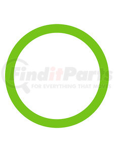 MT1383-10 by OMEGA ENVIRONMENTAL TECHNOLOGIES - 10 PK, O-RING, GREEN HNBR