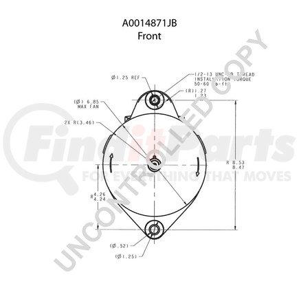A0014871JB by LEECE NEVILLE - High Output Alternator