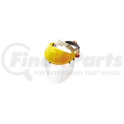 """679 by GATEWAY SAFETY - Faceshield with Headgear and Visor, Venom, Clear 15-1/2"""" x 8"""" Shield, Tension Adjustment in Headgear"""