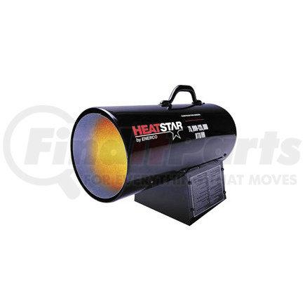F170125 by ENERCO - HD Portable Direct-Fired Forced Air Propane Heater, HS125FAV 75,000-125,000 BTU/HR