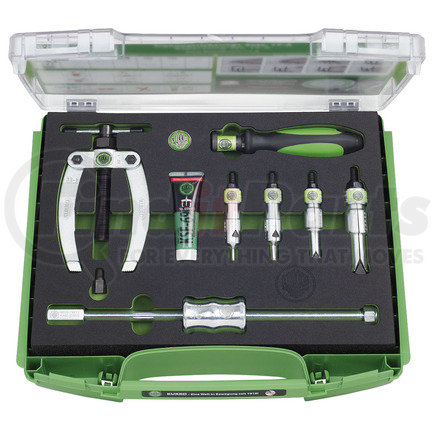 K-22-A by KUKKO - INTERNAL BEARING EXTRACTING SET WITH COUNTERSTAY AND SLIDE HAMMER