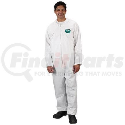 CTL417VXLLK by LAKELAND - Lakeland MicroMax® NS Coveralls w/ Elastic Wrists & Ankles, X-Large, Vendor Packs, 50/Case