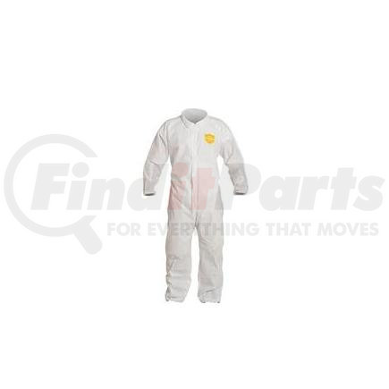 PB125SWHMD002500DP by UPONOR - DuPont™ ProShield® Basic Coveralls w/ Elastic Wrists & Ankles, Medium