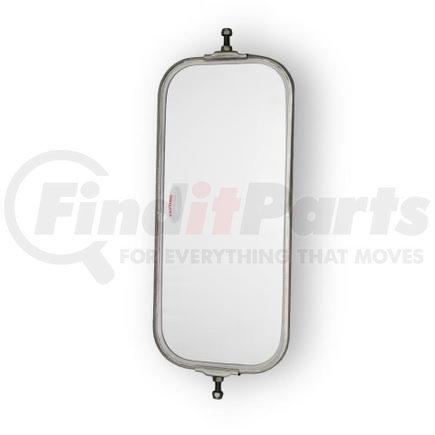 "708022 by VELVAC - V-Back Mirror 7""x16"" OEM V-Back Mirror, Stainless Steel"