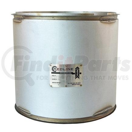 52931 by REDLINE EMISSIONS PRODUCTS - Cummins ISM, ISL Diesel Particulate Filter