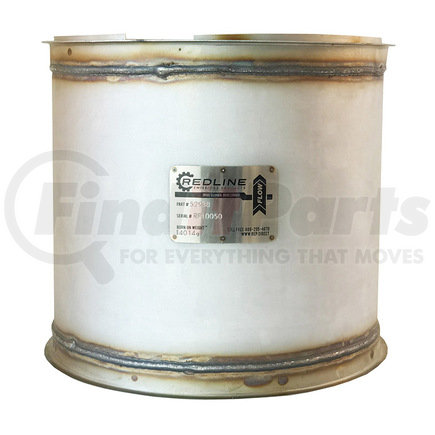 52938 by REDLINE EMISSIONS PRODUCTS - Cummins ISM Diesel Particulate Filter