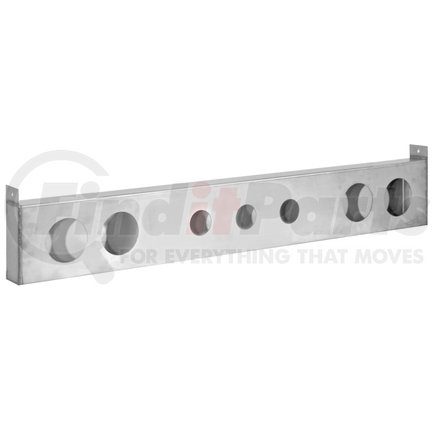 LB8443SST by BUYERS PRODUCTS - 44 Inch Stainless Steel Light Bar for Round Lights