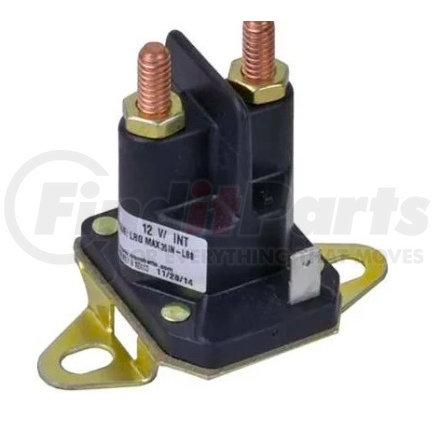 812-1221-211 by TROMBETTA - Solenoid, 12V 3 Terminals, Intermittent, Bracket Has Slot for Mounting Band