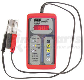 720 by ELECTRONIC SPECIALTIES - 12 Volt Digital  Battery Tester