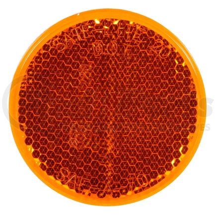 """45A by TRUCK-LITE - Signal-Stat, 2"""" Reflector, Acrylic, Yellow"""