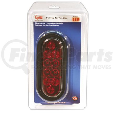 52282-5 by GROTE - STT LAMP  RED  LED  OVAL