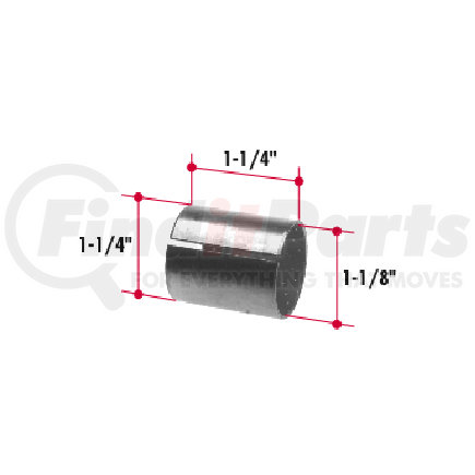 BT779 by TRIANGLE SUSPENSION SYSTEMS CO. - Bronze Bushing (1-1/4 x 1-1/8 x 1-1/4) Thin Wall
