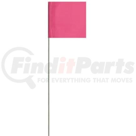 """BN2321WPR by UPONOR - Presco Standard Marking Flags, 21"""", White, 100/Case"""