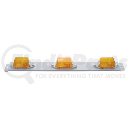 31076 by UNITED PACIFIC - Mini Identification Light Bar - Amber
