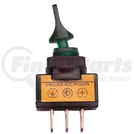 40094 by UNITED PACIFIC - Glow Duck Bill Toggle Switch - Green