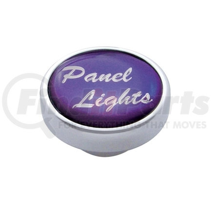 "23218 by UNITED PACIFIC - ""Panel Lights"" Dash Knob - Purple Glossy Sticker"