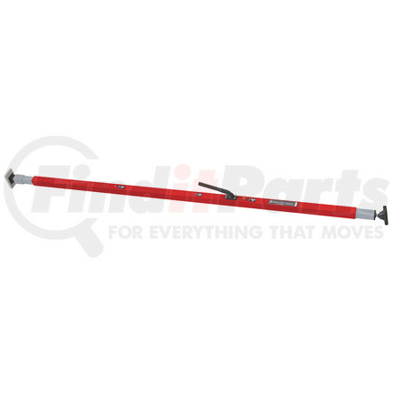 080-01246 by SAVE-A-LOAD - SL-30 Series Bar, F-track ends, Attached 3 Crossmember Hoop-Pink powder coat