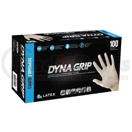 650-1002 by SAS SAFETY CORP - Latex Dyna Grip Powder-Free Exam Grade