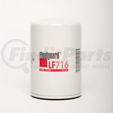 LF716 by FLEETGUARD - L/O FLTR,FILTER-LUBE OIL
