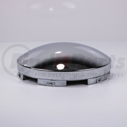 CF400-1 by POWER PRODUCTS - Front Hubcap - Chrome Baby Moon