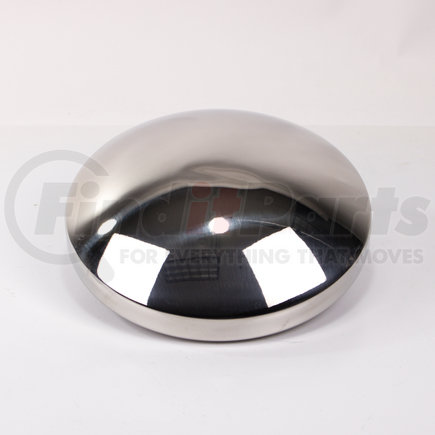 """CR700S by POWER PRODUCTS - Rear Hubcap - Stainless Steel 8-1/2"""" Axle - Baby Moon - 8 ea 3/4"""" Studs"""