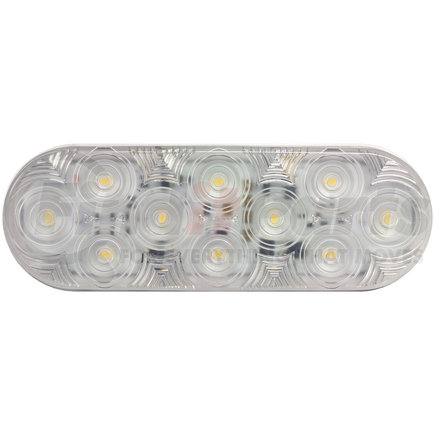 1220C-10 by PETERSON LIGHTING - 1220C-10/1223C-10 LumenX® LED Oval Back-Up Light, AMP - Clear, Grommet Mount