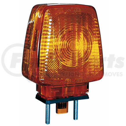 344A by PETERSON LIGHTING - Amber Double-Face Turn Signal with Side Marker