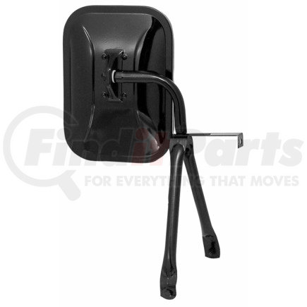 820 by PETERSON LIGHTING - 820 Universal Swing-Away Mirror - Black