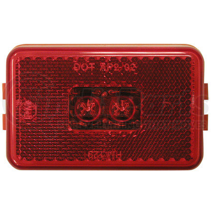M129R by PETERSON LIGHTING - 129 LED Clearance/Side Marker Light - Red
