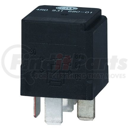 931680011 by HELLA USA - RELAY 12V 20/40A SPDT RES SLD