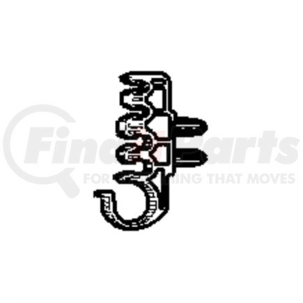 52110278AD by CHRYSLER - CLIP. Fuel Bundle. Diagram -6