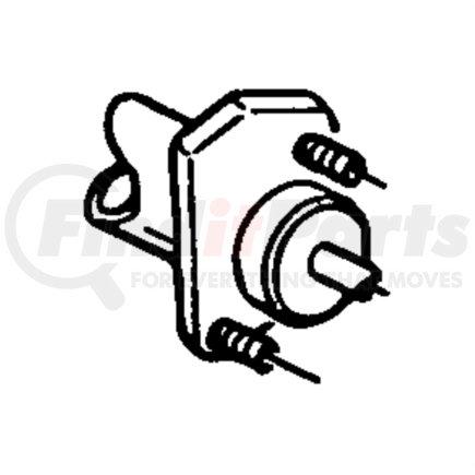 52107654AC by CHRYSLER - HYDRAULIC CONTROL. Clutch Actuator. Diagram 1