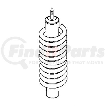 52089767AE by CHRYSLER - SPRING. Front Coil. Diagram 19