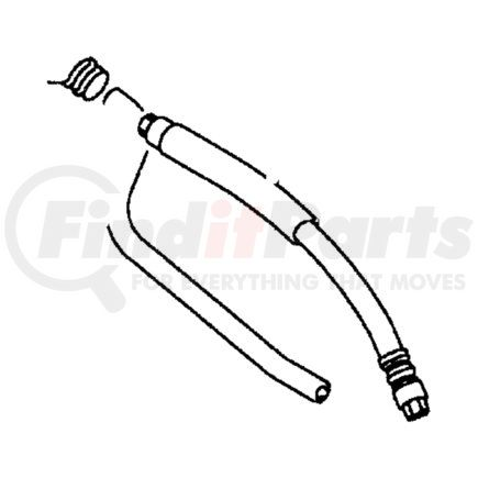 MB911558 by CHRYSLER - LINE. Power Steering. Diagram 3