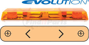 "6363003 by ECCO - 36"" Evolution 2-Strobe Amber Lightbar"