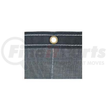 3013396 by BUYERS PRODUCTS - Black Mesh Replacement Tarp, 7' x 28'
