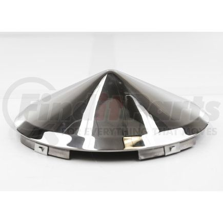 CF450SM-1 by POWER PRODUCTS - Front Hubcap - Stainless Steel Cone