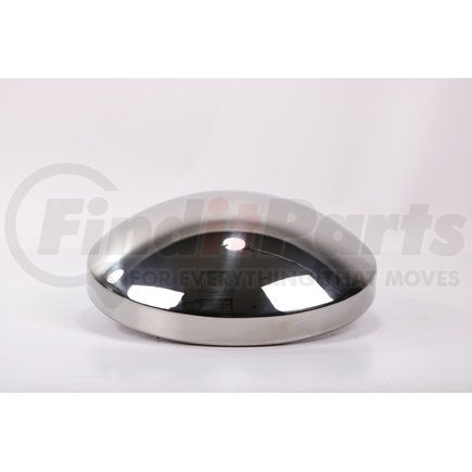 """CR700S-1 by POWER PRODUCTS - Rear Hubcap - Stainless Steel 8-1/2"""" Axle - Baby Moon - 8 ea 3/4"""" Studs - 2 Pack"""