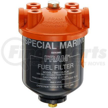 [SCHEMATICS_49CH]  FBM1110PLM by FRAM - Filter Housing | Fram Fuel Filter Assembly |  | FinditParts
