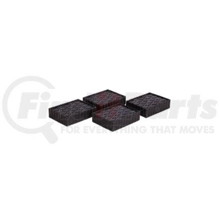 Set of 4 Rotary FJ2439 1-1//2 Tall Fat Polymer Adapter Block